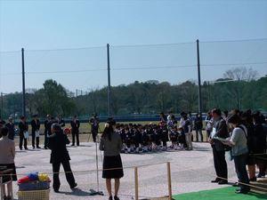 常陸太田市 山吹運動公園 噴水池施設 竣工式