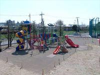常陸太田市 山吹運動公園 複合遊具施設