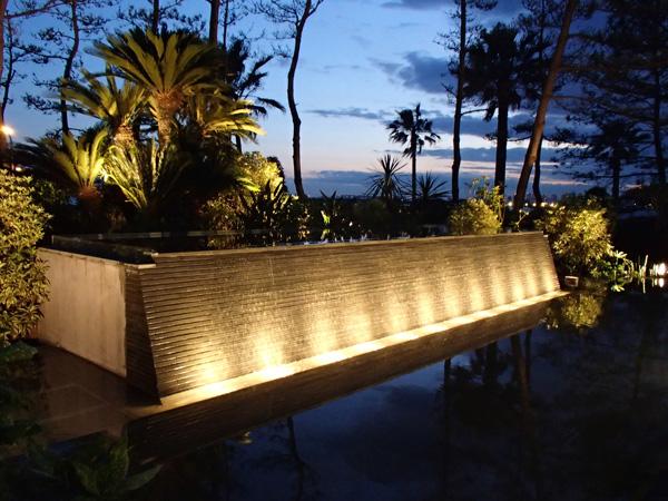 浦安Hホテル チャペル「壁泉」噴水